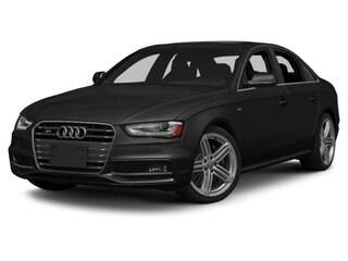 2015 Audi S4 3.0T Red Interior Sedan