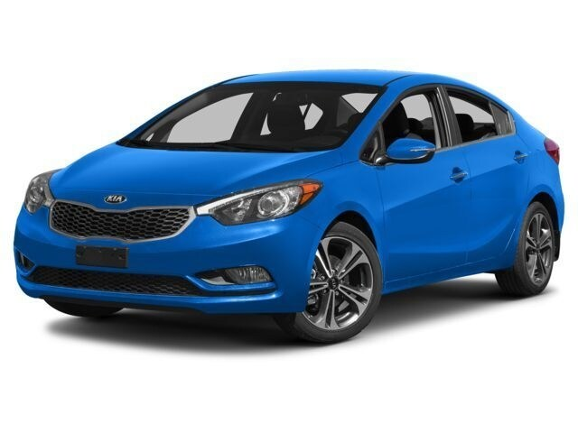 2015 Kia Forte 1.8L LX+ Sedan 6 speed automatic [0] 1.8L Corsa Blue