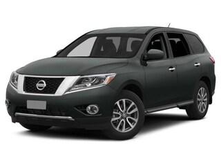 2015 Nissan Pathfinder SL 4X4|V6|NAVI|LEATHER|KEYLESS ENTRY|HTD SEATS SUV