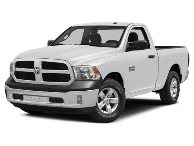 2015 Ram 1500 SXT. REG. CAB. 8' BOX. 4X4. Truck Regular Cab