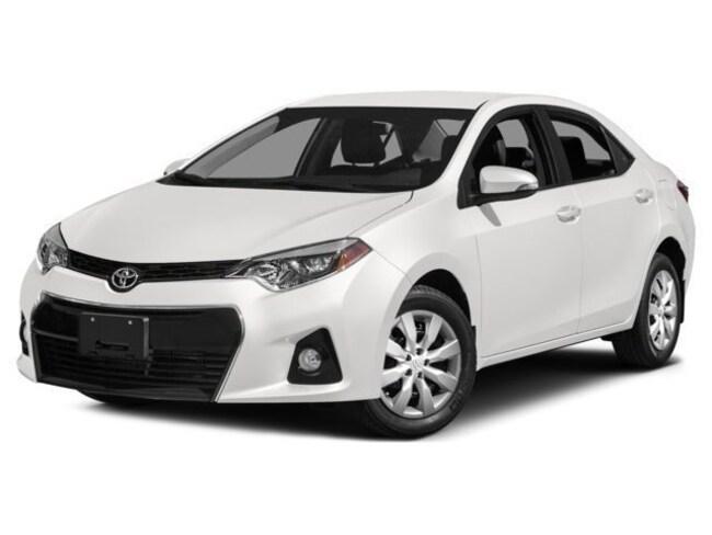 2015 Toyota Corolla S COROLLA S