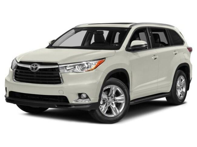 2015 Toyota Highlander XLE TCUV & ECP included! SUV