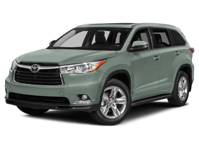 2015 Toyota Highlander Limited: Sunroof and Navigation SUV