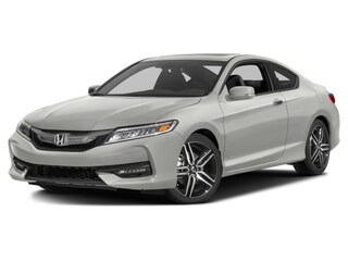 2016 Honda Accord Coupe TOURING - GORGEOUS PEARL WHITE ON BLACK LEATHER, TOUR, CERT Compact 1HGCT2B96GA800495