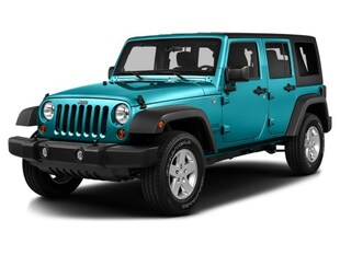 2016 Jeep Wrangler Unlimited Sport SUV 55K1683A