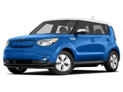 2016 Kia Soul EV SOUL EV LUX Hatchback AT [WL] Electronic Blue/Polar White Two-Tone