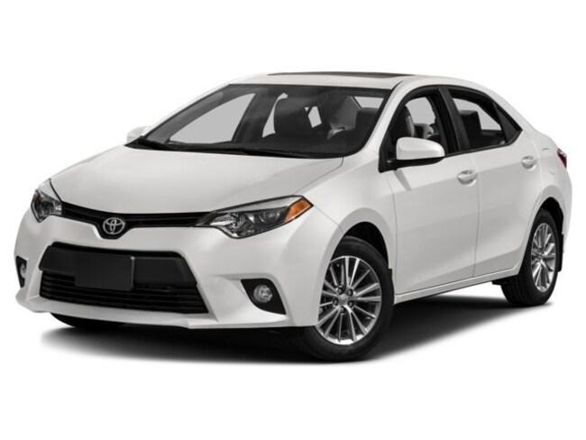 2016 Toyota Corolla CE Sedan
