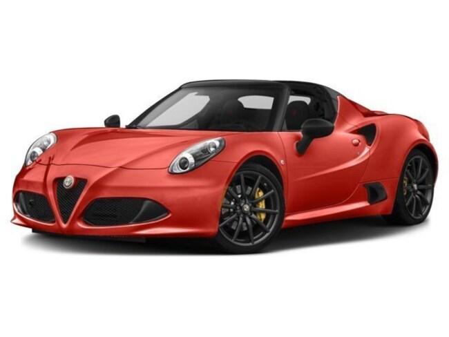 2017 Alfa Romeo 4C Spider Convertible