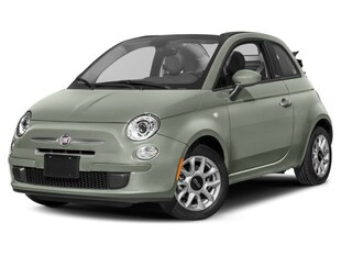 2017 FIAT 500c Lounge Cabrio with 12,600 km Convertible 3C3CFFER4HT694183