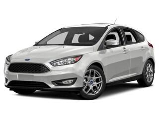 2017 Ford Focus SE Hatchback 2.0L Regular Unleaded Ingot Silver