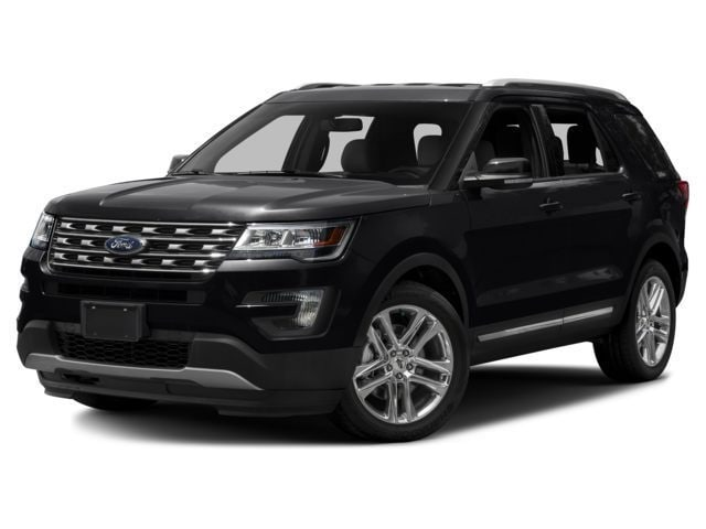 2017 Ford Explorer XLT VUS 3.5L Ordinaire sans plomb Shadow Black