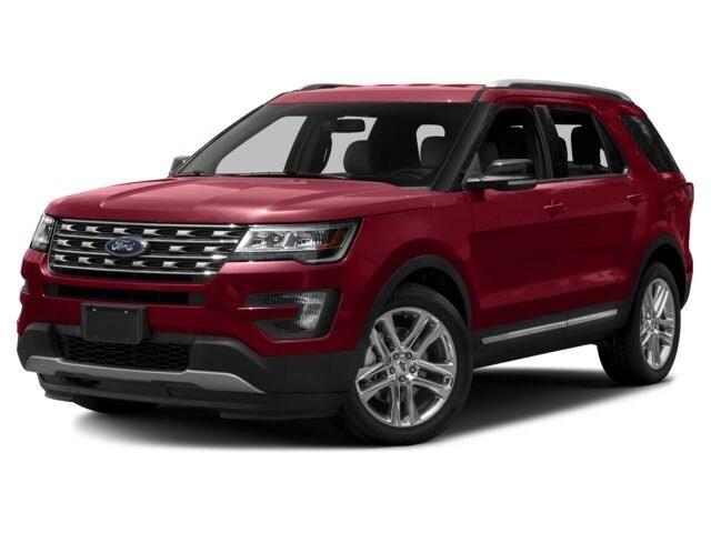 2017 Ford Explorer XLT VUS 3.5L Ordinaire sans plomb White Platinum Tri-Coat
