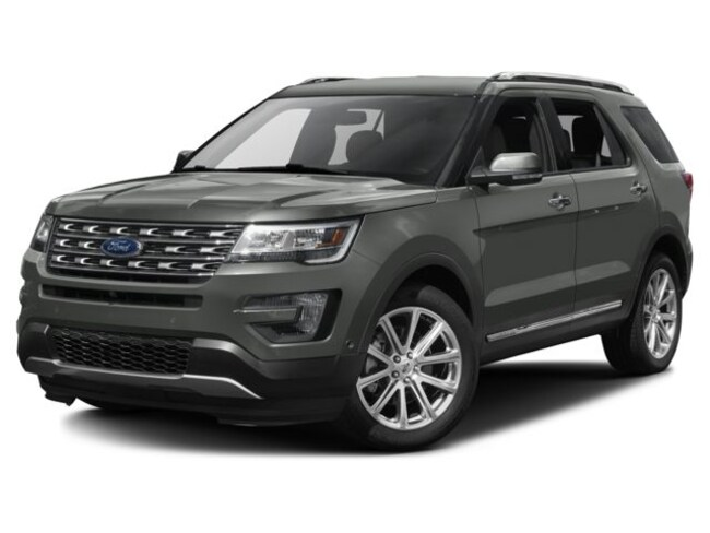 2017 Ford Explorer Limited AWD| LOADED| SUNROOF| GPS| ACCIDENT FREE SUV