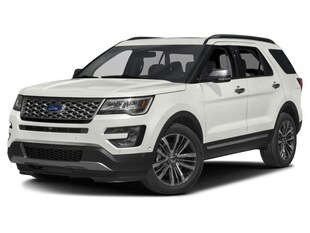 2017 Ford Explorer Platinum Sport Utility