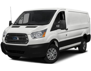 2017 Ford Transit-350 w/Sliding Pass-Side Cargo-Door Van Low Roof Cargo Van