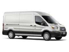 2017 Ford Transit-350 w/Sliding Pass-Side Cargo-Door Van Medium Roof Cargo Van 3.2L Diésel Oxford White