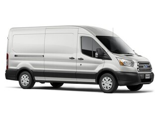 2017 Ford Transit-350 w/Sliding Pass-Side Cargo-Door Van Medium Roof Cargo Van 3.2L Diésel Oxford White