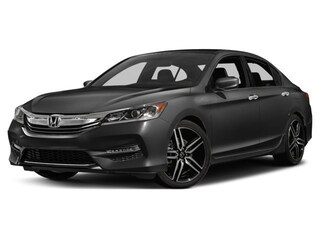 2017 Honda Accord SPORT - 0 accident claims,certified,warr,sense tech,bup cam MIDSIZE 1HGCR2F67HA802207