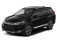 2017 Honda CRV EX-L SUV Gas ACVT All-wheel Drive Black