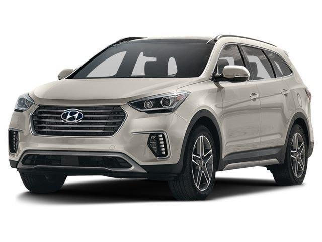 2017 Hyundai Santa Fe XL Ultimate w/6 Passenger Saddle SUV