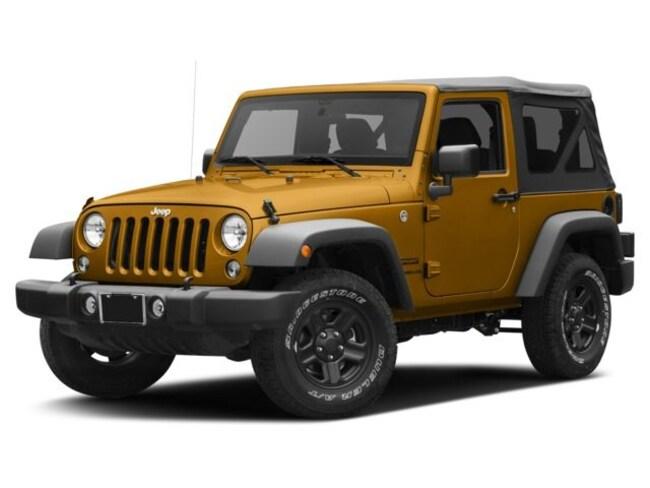 2017 Jeep Wrangler Willys Wheeler SUV