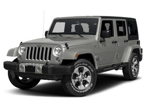 2017 Jeep Wrangler Unlimited Sahara 4x4 - Fully Loaded