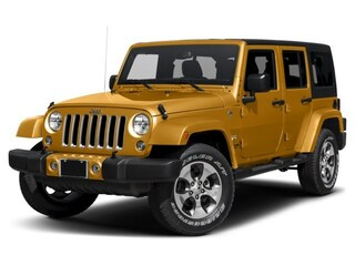 New 2017 Jeep Wrangler Unlimited Sahara SUV in Peterborough
