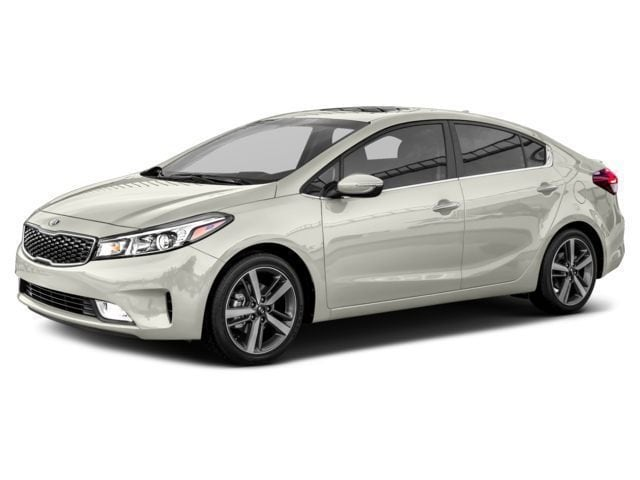 2017 Kia Forte EX+ Sedan A6 2.0L Snow White Pearl