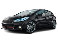 2017 Kia Forte 5 1.6L SX Hatchback Automatic [ACT, TSF, DTF, DCCAR] 1.6L Aurora Black