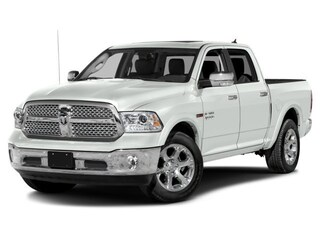 2017 Ram 1500 LARAMIE 4WD with Heated & Ventilated Seats Pickup Crew Cab