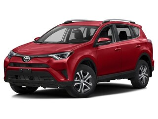 2017 Toyota Rav4 AWD LE no accidents with Toyota Safety Sense SUV