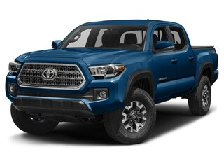 2017 Toyota Tacoma 4X4 Double Cab TRD Off Road V6 Short Bed Truck Double Cab