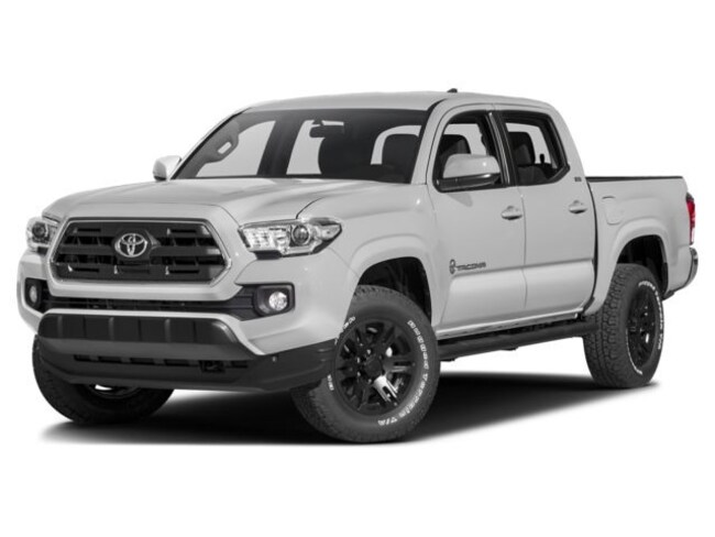 2017 Toyota Tacoma 4x4 Double Cab V6 Limited 6A Truck Double Cab
