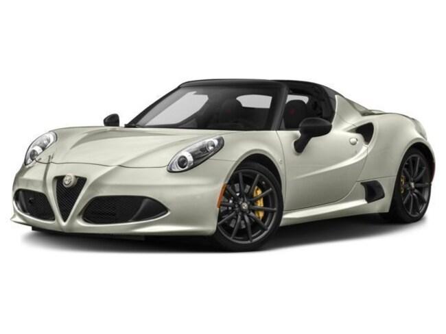 2018 Alfa Romeo 4C Spider Base Convertible