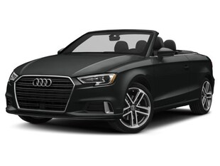 2018 Audi A3 Technik Convertible