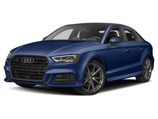 2018 Audi S3 2.0T Technik Sedan