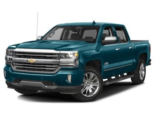 New 2018 Chevrolet Silverado 1500 High Country Truck Crew Cab 3GCUKTEJ3JG105692 In Wetaskiwin & Ponoka, AB