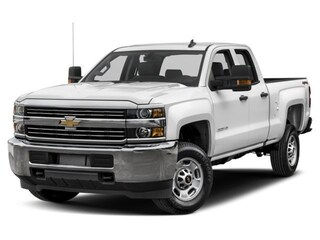 New 2018 Chevrolet Silverado 2500HD WT VORTEC FLEX FUEL ENGINE! Truck Double Cab 1GC2KUEG3JZ296404 In Wetaskiwin & Ponoka, AB