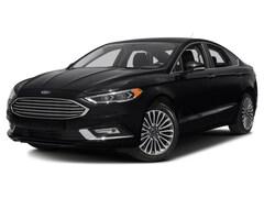 2018 Ford Fusion Titanium, Sync, Power Moonroof, Nav, Camera Sedan 6 Speed Automatic AWD