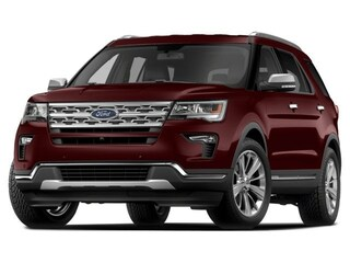2018 Ford Explorer XLT, Nav, Power Liftgate, Tow Pkg, Sync 3 SUV 6-Speed Automatic 4WD