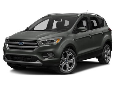 2018 Ford Escape TITANIUM 400A 4WD ROOF SAFE SMART 19 WHEELS Titanium 4WD