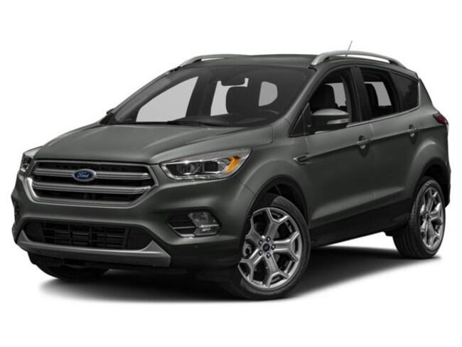 2018 Ford Escape TITANIUM 400A 4WD ROOF SAFE SMART 19 WHEELS Titanium 4WD