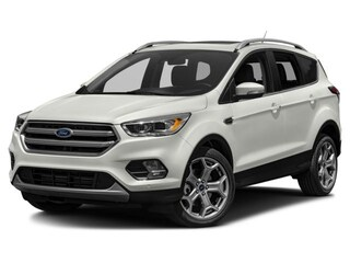 2018 Ford Escape Titanium VUS 2.0L Ordinaire sans plomb White Platinum Tri-Coat