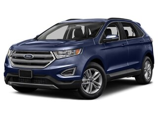 2018 Ford Edge SEL 2.0L ECOBOOST CLOTH 18 INCH TIRES SUV
