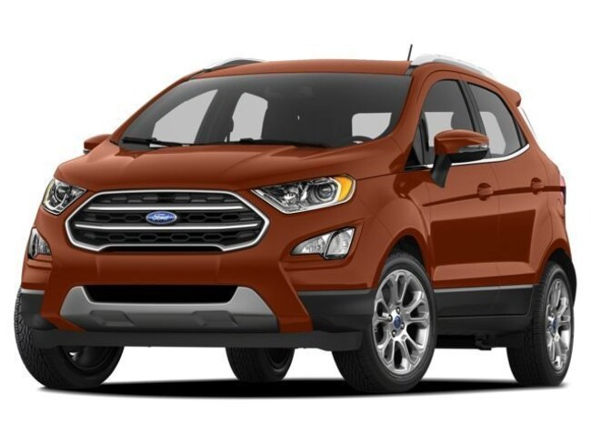 2018 Ford EcoSport SE 4WD - $4000 Total In Incentives