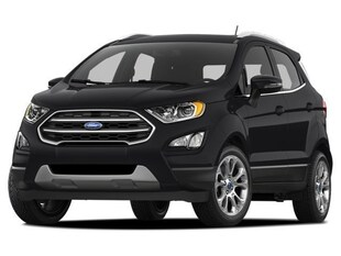 2018 Ford EcoSport SE CONVENIENCE PKG AND COLD WEATHER PKG SE 4WD