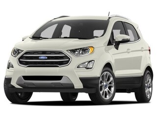 2018 Ford EcoSport SE, Moonroof, Sync 3, Sensors, Camera SUV 6-Speed Automatic 4WD