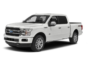 2018 Ford F-150 XLT 300A 4X4 3.5L ECOBOOST 10 SPEED Crew Cab Short Bed Truck