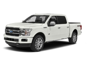 2018 Ford F-150 DEMO Platinum TECH PKG SPRAY-IN BEDLINER 2X COSTCO Truck