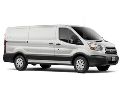 2018 Ford Transit-150 Base w/Sliding Pass-Side Cargo Door Van Low Roof Cargo Van 3.7L Gaseous Fuel Compatible Oxford White